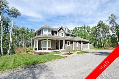 Contemporary Victorian Style Two Storey on 2.59 acres in Millarville Ridge!